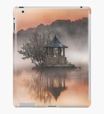 Flat painted calm lake iPad Case/Skin