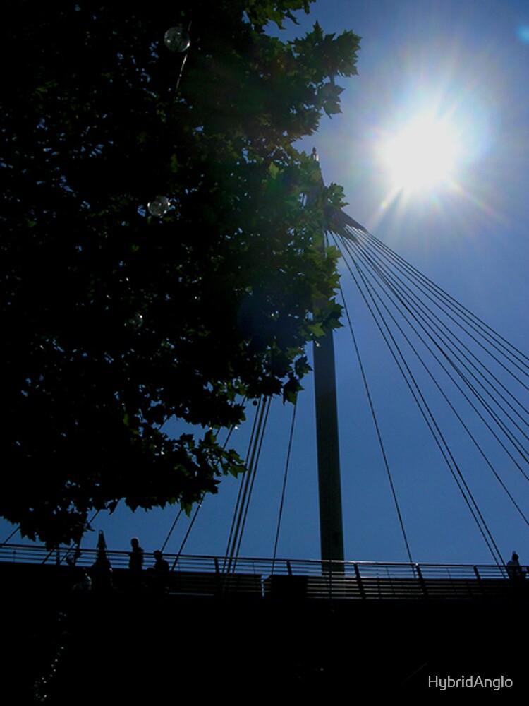 Sunshine Over Hammersmith Bridge by HybridAnglo