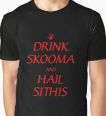 Skyrim drink skooma and hail sithis Graphic T-Shirt