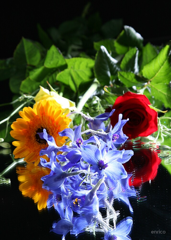 flowers by enrico