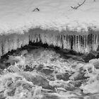 The icy stream by Veikko  Suikkanen