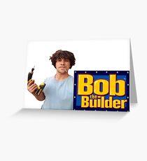 Bob Morley Der Baumeister Grußkarte