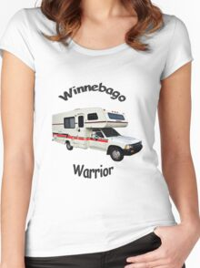Winnebago Warrior Toyota Motorhome Women's Fitted Scoop T-Shirt