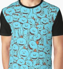 Mr Meseeks - Rick and Morty Graphic T-Shirt