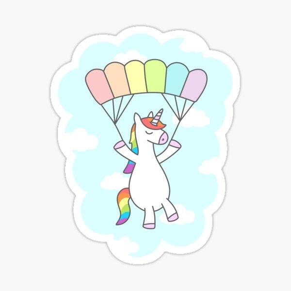 Unicorn Glide Sticker