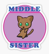 Chibi Cat - Middle Sister Sticker