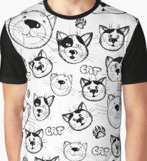 Cute cartoon cats. Graphic T-Shirt