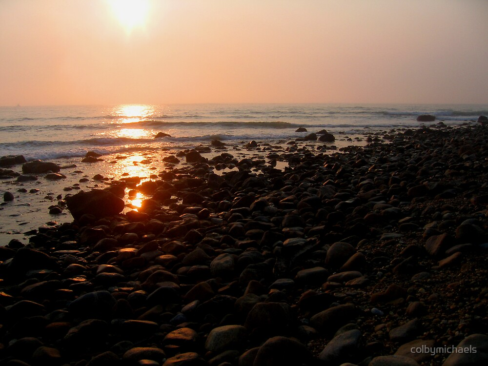 Rocky Beach by colbymichaels