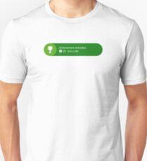 Achievement Unlocked - 20G Got a Life Unisex T-Shirt