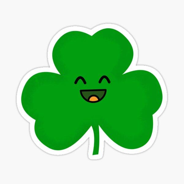 Happy Shamrock Sticker
