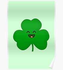 Happy Shamrock Poster
