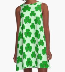 Happy Shamrock A-Line Dress