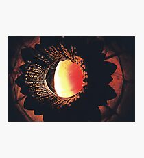 Red Lamp Photographic Print