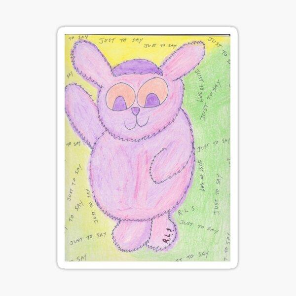 cudleez - pinkie Sticker
