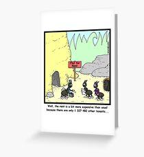 Crowded Greeting Card