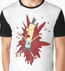 Poopybutthole shot — Rick and Morty Parasite Graphic T-Shirt