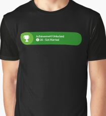 Achievement Unlocked - 20G Got Married Graphic T-Shirt