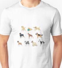 Purebred dogs Unisex T-Shirt
