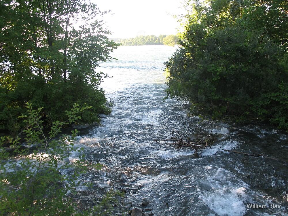 Niagara River 2 by William Blair