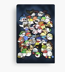 Super Smash Boos! Canvas Print