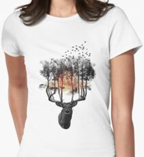Ashes to ashes. Women's Fitted T-Shirt