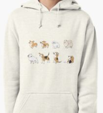 Purebred dogs 2 Pullover Hoodie