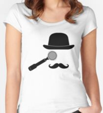 Barista Monocle Women's Fitted Scoop T-Shirt