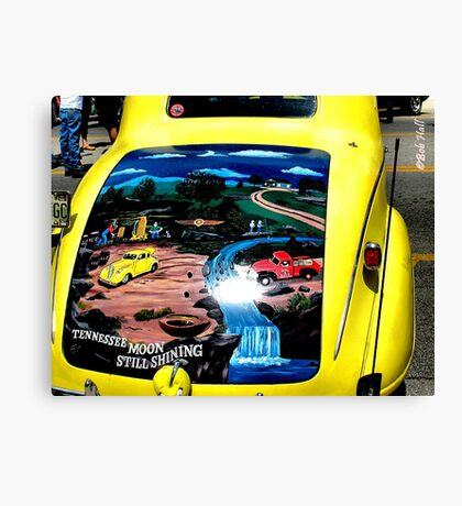 """van Gogh on a Vehicle""... prints and products Canvas Print"