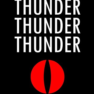 Thunder X3 by anxietydown