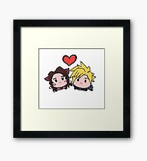 Fantasy Couple Framed Print