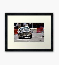 Volvo Lean Framed Print