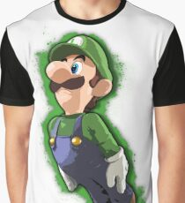 Luigi - Super Smash Bros. Graphic T-Shirt