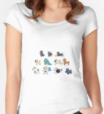Purebred dogs 4 Women's Fitted Scoop T-Shirt