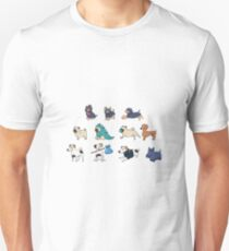 Purebred dogs 4 Unisex T-Shirt