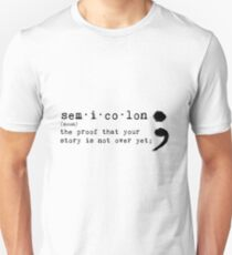 Semicolon Unisex T-Shirt