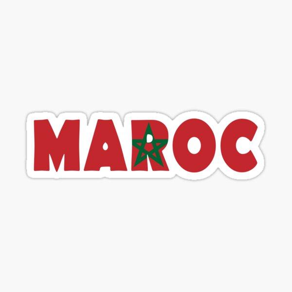 Maroc - Maroc Sticker