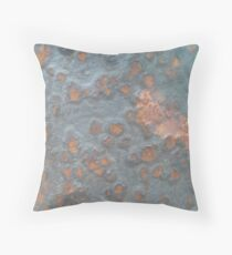 Rust Spots Throw Pillow