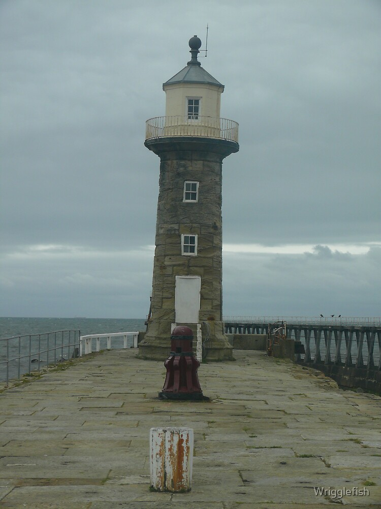 pier lighthouse by Wrigglefish