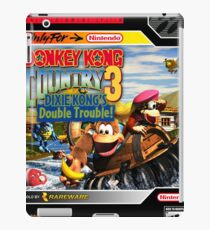 Donkey Kong Country 3 Super Nintendo Collection iPad Case/Skin