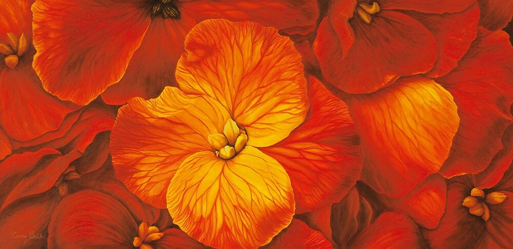 """ Wallflowers "" by carrysmith"