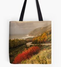 Autumn on the Cabot Trail Tote Bag