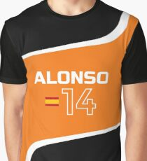 F1 2017 - #14 Alonso Graphic T-Shirt