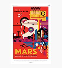 Space Travel Poster - Mars Photographic Print