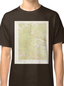 USGS TOPO Map Colorado CO Central City 450232 1942 24000 Classic T-Shirt