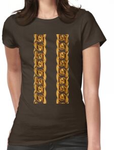 2 Chainz Gold Womens Fitted T-Shirt