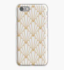 Art Deco Series - Gris et Doré iPhone Case/Skin