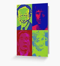 Carry On Pop Art Greeting Card