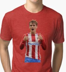 Antoine Griezmann wallpaper Tri-blend T-Shirt