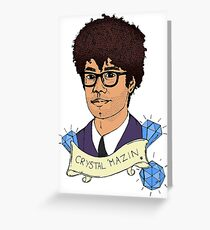 Richard Ayoade's Crystal Maze - Colour Greeting Card