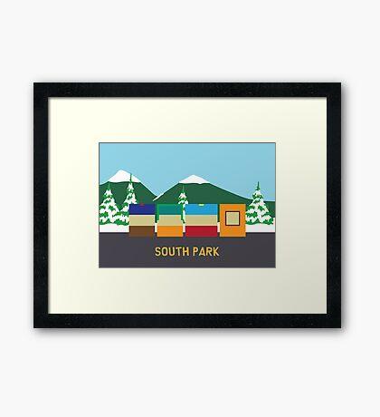 pbbyc - South Park Gang Framed Print